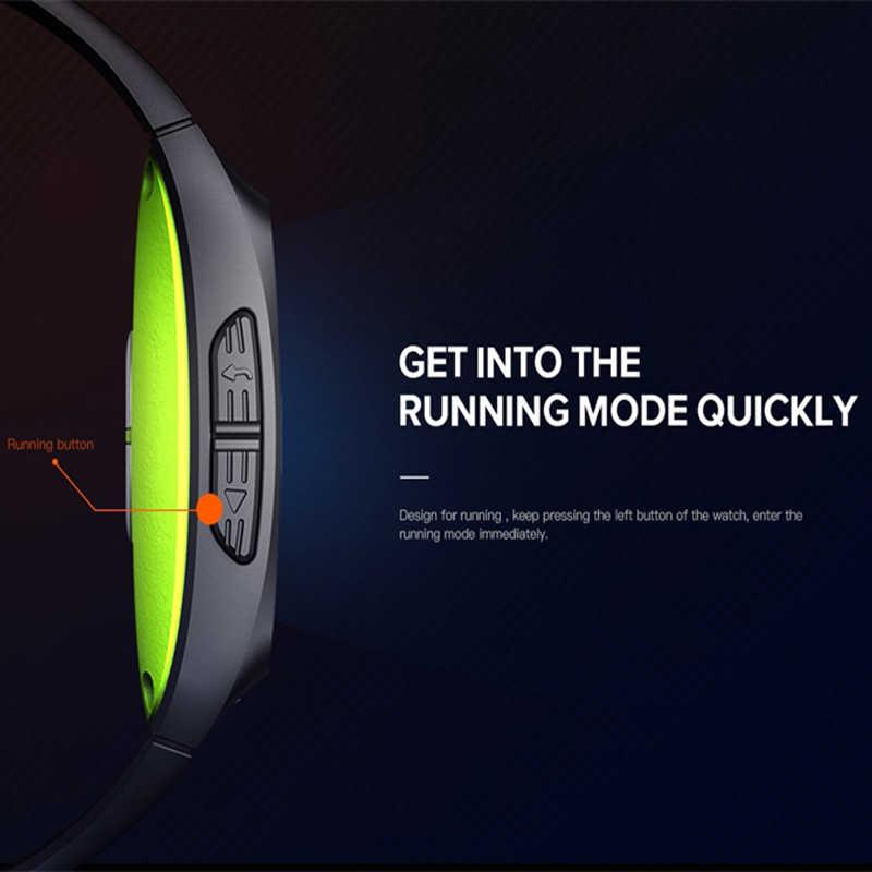 "Iwownfit Iwown P1 דינמי קצב לב אק""ג זיהוי HRV ניתוח מובנה GPS IPS צבע מסך מרובה ספורט מצבי חכם שעון"