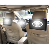 Rear Seat Entertainment LCD Android Headrest Display Car Monitors Headrest DVD Touch Screen For Toyota Land Cruiser Prado