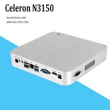 2017 new Gen 5 Braswell 14NM CPU N3150 Quad Core 6W Low Power Fanless Mini PC Windows 8 HTPC Mini Desktop Computer Linux(China (Mainland))