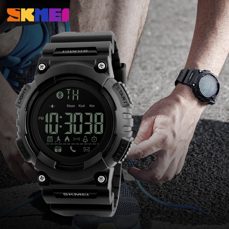 SKMEI Heren Sport Smart horloge Waterdichte Digitale Herenhorloge - Herenhorloges - Foto 4