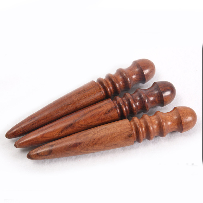 1PS DIY  Leather Tools Leathercraft Edge Trimmer Polishing Tool Milling Leather  Multifunction Round Sandalwood Stick