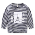 Spring Autumn Cotton Kids T Shirt Striped Long Sleeve Baby Boys T-Shirt Children Pullovers Tee Boys Tops Clothes for 3-10y Child