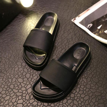 Top Quality Platform Shoes Women Open Toe Slippers Casual Beach Slides Ladies Shoes Bath Shower Sandals Size 36-39