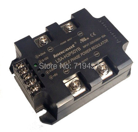 FREE SHIPPING LSA-H3P50YB single-phase full isolation integrated AC voltage regulator module 50AFREE SHIPPING LSA-H3P50YB single-phase full isolation integrated AC voltage regulator module 50A
