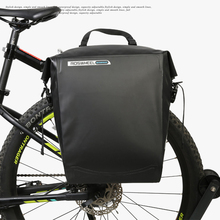цена на Waterproof Bicycle Bags 20L Large Capacity MTB Mountain Pannier Cycling Bicycle Accessories Rear Tail Trunk Riding Bike Bag