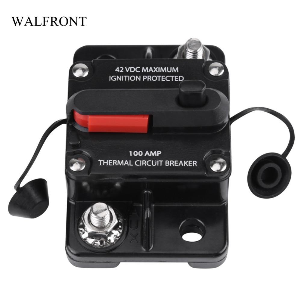 DC12V-42V 50-250A Circuit Breaker Car Auto Marine Stereo Audio Fuse High Quality