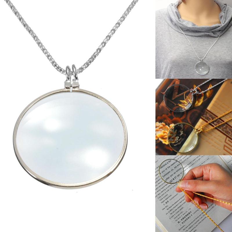 Women fashion jewelry decorative monocle necklace metal accesories women fashion jewelry decorative monocle necklace metal accesories magnifier magnifying glass pendant in pendants from jewelry accessories on mozeypictures Image collections