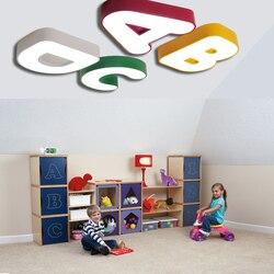Faslin śliczne lampa alfabet lampy sufitowe pokój dziecięcy chłopiec sypialnia ciepły romantyczny przedszkole top lampa ET85