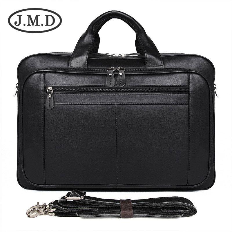 J.M.D 100% Genuine Leather Mens Coffee Briefcase Top Handle Laptop Bag Mens Busiess Bag 7320J.M.D 100% Genuine Leather Mens Coffee Briefcase Top Handle Laptop Bag Mens Busiess Bag 7320