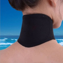 Spontaneous Heating Neck Massager Magnetic Therapy Cervical Vertebra Protection Body Massager Health Care Comfortable Support 2pcs magnetic therapy ankle brace support spontaneous heating protection elastic ankle belt leg pads protectors health care
