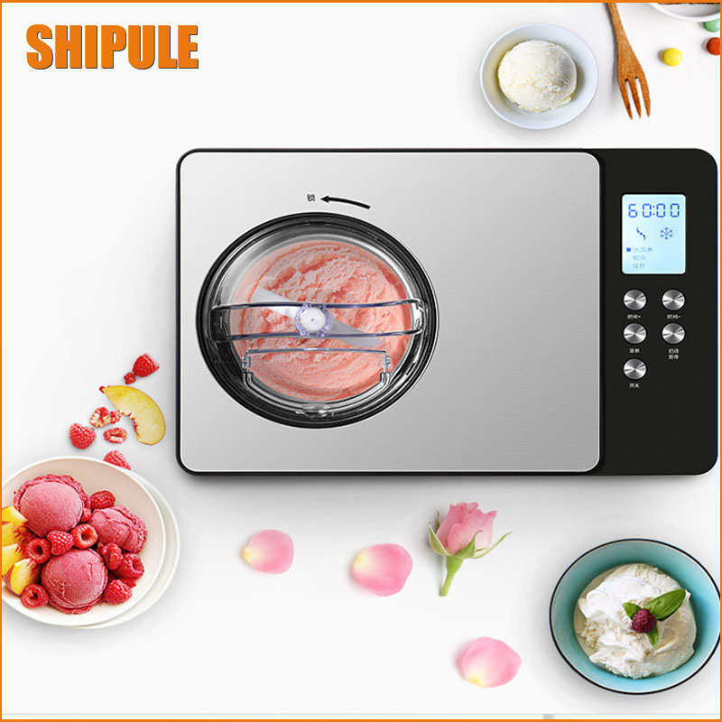 2017New commercial hard ice cream machine full auto home use ice cream mking machine kids popsicle  maker dor sale 1pc15kgs 24h 220v small commercial automatic ice maker household ice cube make machine for home use bar coffee shop