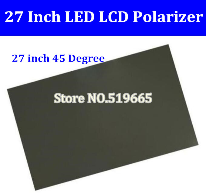 New 27inch 45 Degree Glossy 27 Inch LCD Polarizer Polarizing Film For LCD LED IPS Screen For TV