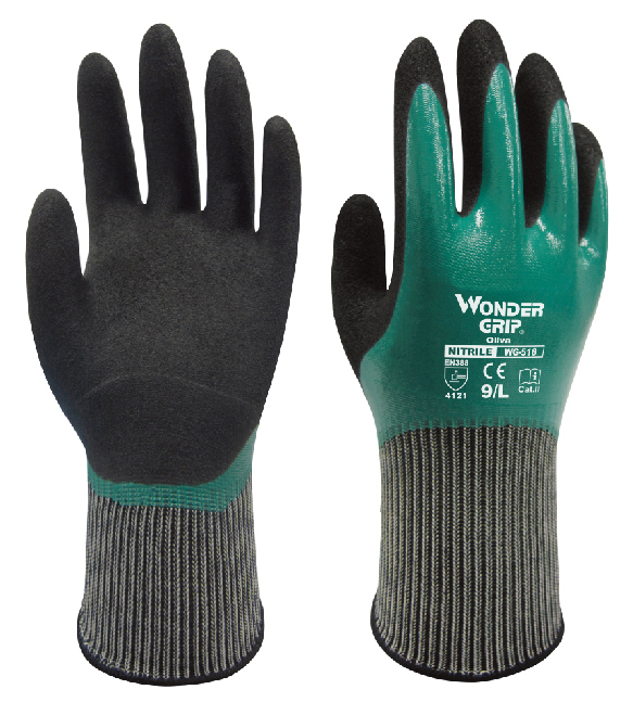 Gardening Glove Oil And Gas Glove Nitrile Rubber Abrasion Resistant Glove Antibiotic Water Proof Chemical Resistant Work Gloves