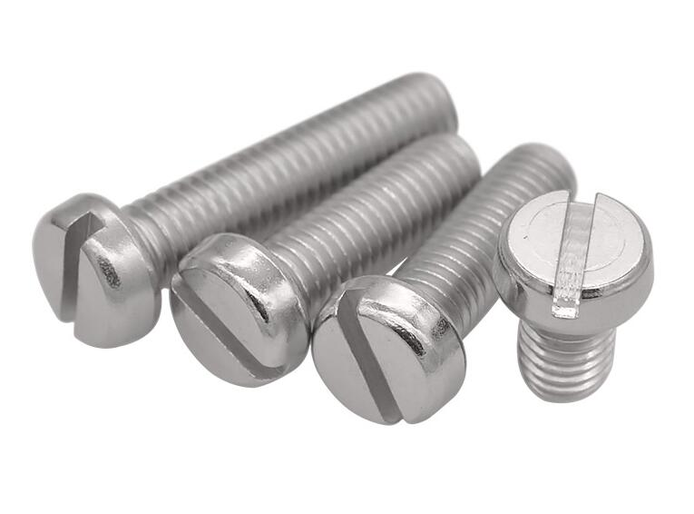 10pcs <font><b>M3</b></font> stainless steel Slotted screw machine screws <font><b>22mm</b></font>-50mm length image
