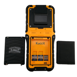 Image 5 - 2017 Rugged Waterproof Big Phone Handheld Terminal Barcode Scanner Android Bluethooth PDA NFC 2D Laser Reader 3G Data Collector