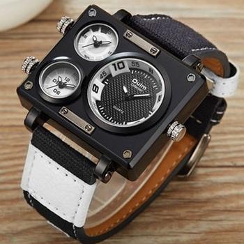 OULM - Quartz Square Dial Watch