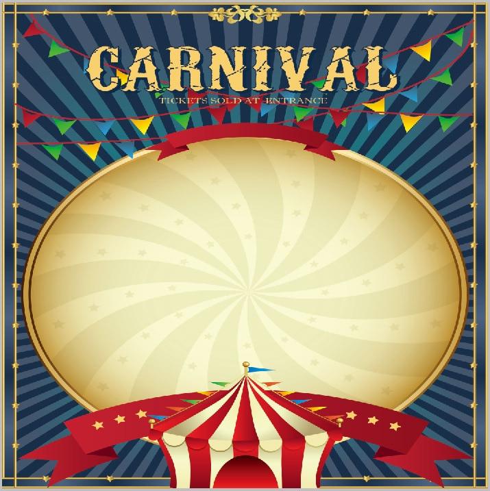 Popular Circus Backgro...