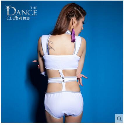 HWY пикантные открытые женские модные сиамские костюмы Танцы одежда новые костюмы DS