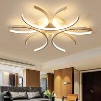 Lican candeeiro de alumínio tipo avize  suporte superfície branca  110v 220v  moderno  para quarto e sala de estar quarto