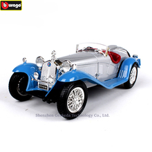 купить Bburago 1:18 1932 Alfa Romeo 8C 2300 Alloy Retro Car Model Classic Car Model Car Decoration Collection gift в интернет-магазине