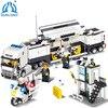 Qunlong Toys Minecraft Police Station Modle Building Blocks DIY Bricks Set Educational Toys For Children Compatible