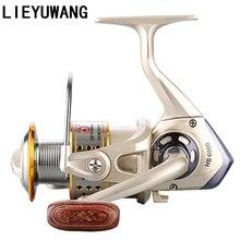 LIEYUWANG 12+1 Spinning Reel Ball Bearings Speed Ratio 5.2:1 Sea Spinning Fishing Reels Fishing Wheel Gear 1000-7000 Series Tool цены онлайн