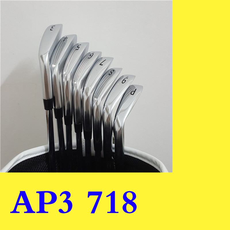 AP3 718 Гольф железные клюшки для гольфа Утюг полный набор для мужчин шпаттер Драйвер Фарватер Гибридный головной убор графитовый стальной ва