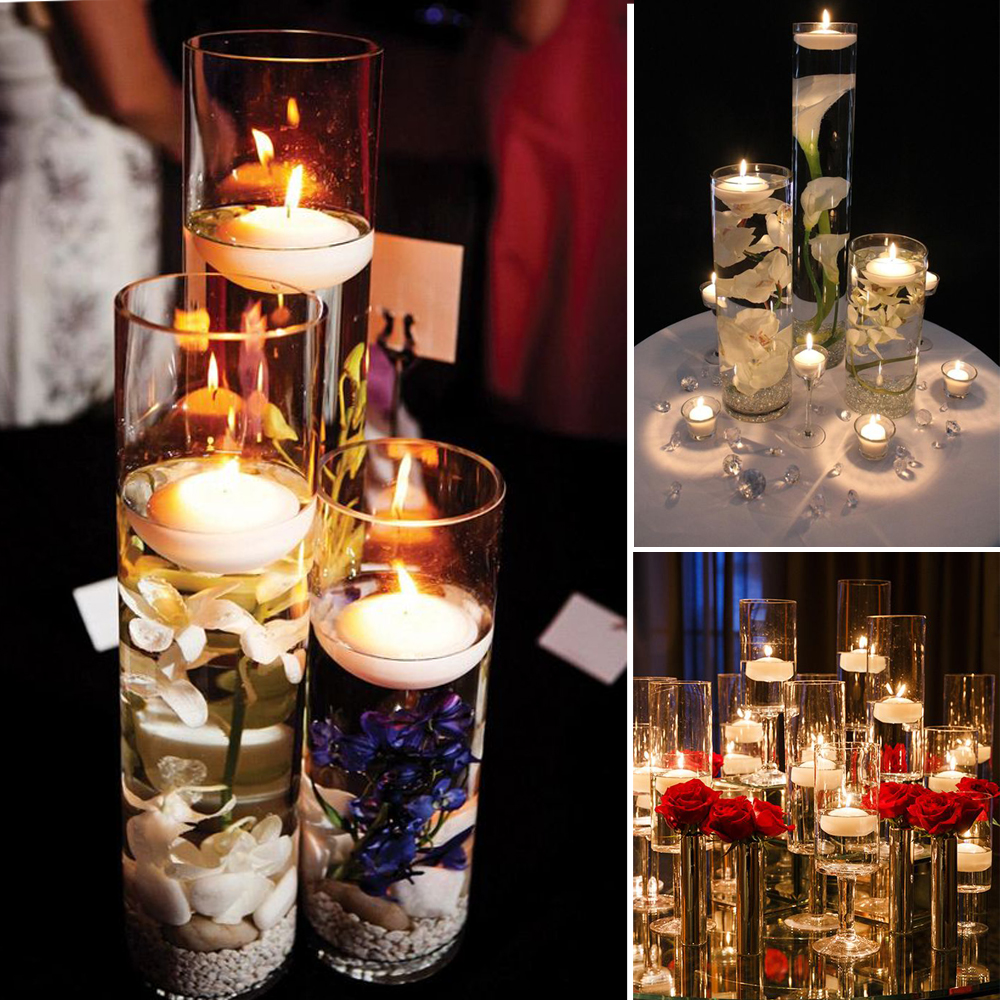 Floating Candle Centerpiece Fair Wedding Candles