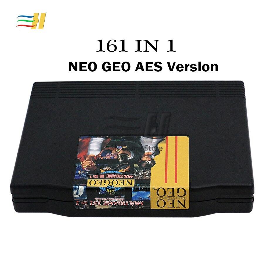Cartouche géo géo Super AES 161 en 1 jeu Mutli carte PCB Jamma plateau multi panier jeux cassette AES géo Standard Jamma