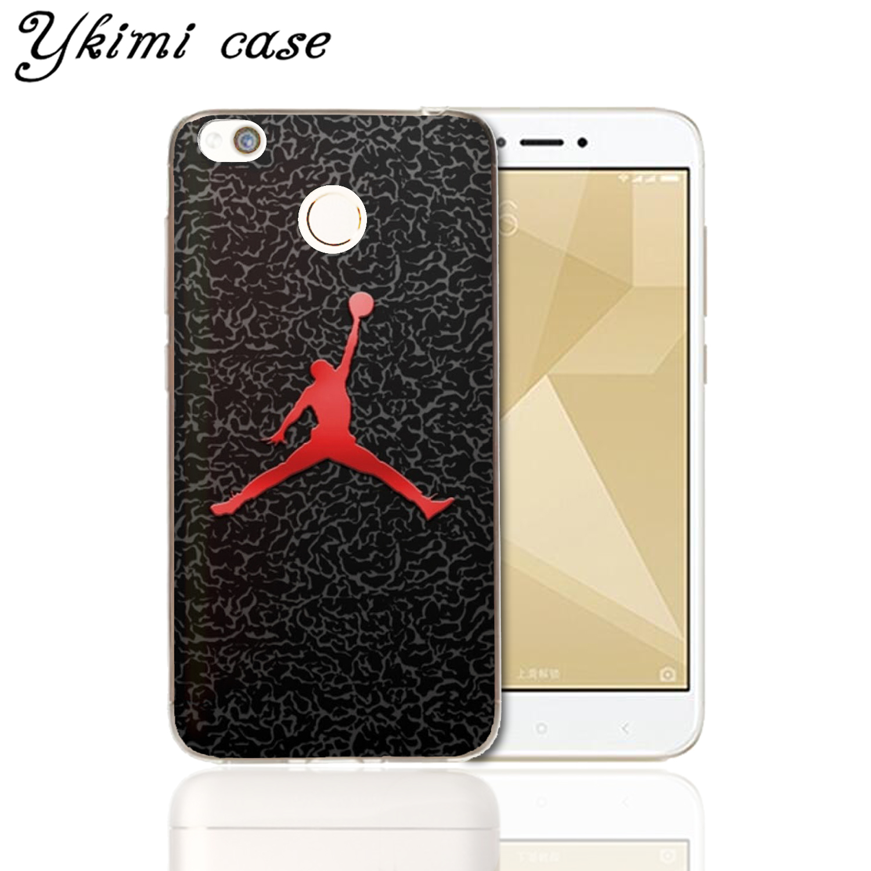 Ykimi case Fashion No. 23 Jordan Cover For Xiaomi Redmi 5 plus 5a 6 pro 6a 4x 4a note 4 4x 5 pro 5a 6 case soft Silicone TPU