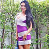 2013 New Style Hot Selling Knitted HL Bandage Dress Strapless Mini Evening Dress Party Dress Victoria
