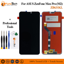 6.26 Inch For ASUS ZenFone Max Pro M2 ZB631KL 2280*1080 LCD Display Screen+Touch Panel Digitizer Assembly 13 3 inch lcd touch screen assembly for asus tp300 tp300la left connector n133hse ea3 1920 1080
