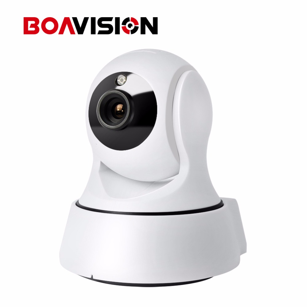 HD 720P 1 0MP WIFI PTZ IP Camera IR Cut NightVision Two Way Audio CCTV Security