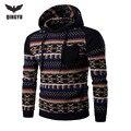 2016 Hoodies Men Hombre Hip Hop Male Brand Leisure Hoodie Digital Printing Sweatshirt Suit Mens Splice Slim Fit Men Hoody YJIE