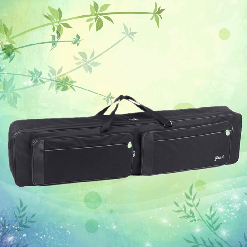 137.5cm New Top grade wholesale 88 keyboard bag electric piano organ backpack synthesizer soft gig waterproof case package strap 2 pcs of new tenor trombone gig bag lightweight case black