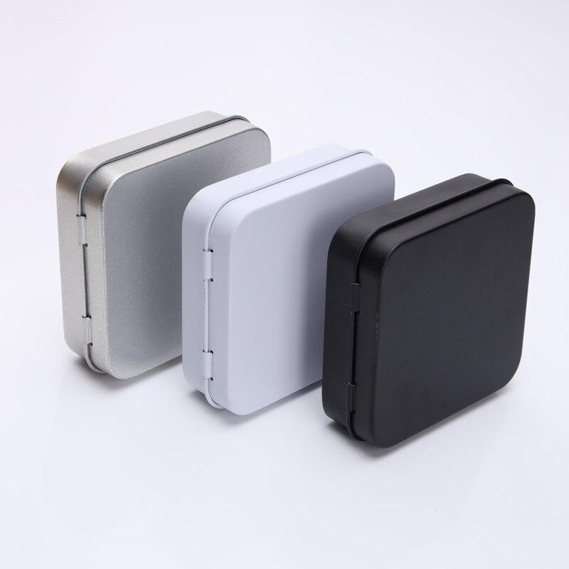 ขนาด: 70x70x23 มม. ขนาดเล็กสแควร์ดีบุกกล่องถุงยางอนามัยกล่องบรรจุเครื่องประดับโลหะขนาดเล็กของขวัญกล่อง-ใน กล่องและถังเก็บของ จาก บ้านและสวน บน AliExpress - 11.11_สิบเอ็ด สิบเอ็ดวันคนโสด 1
