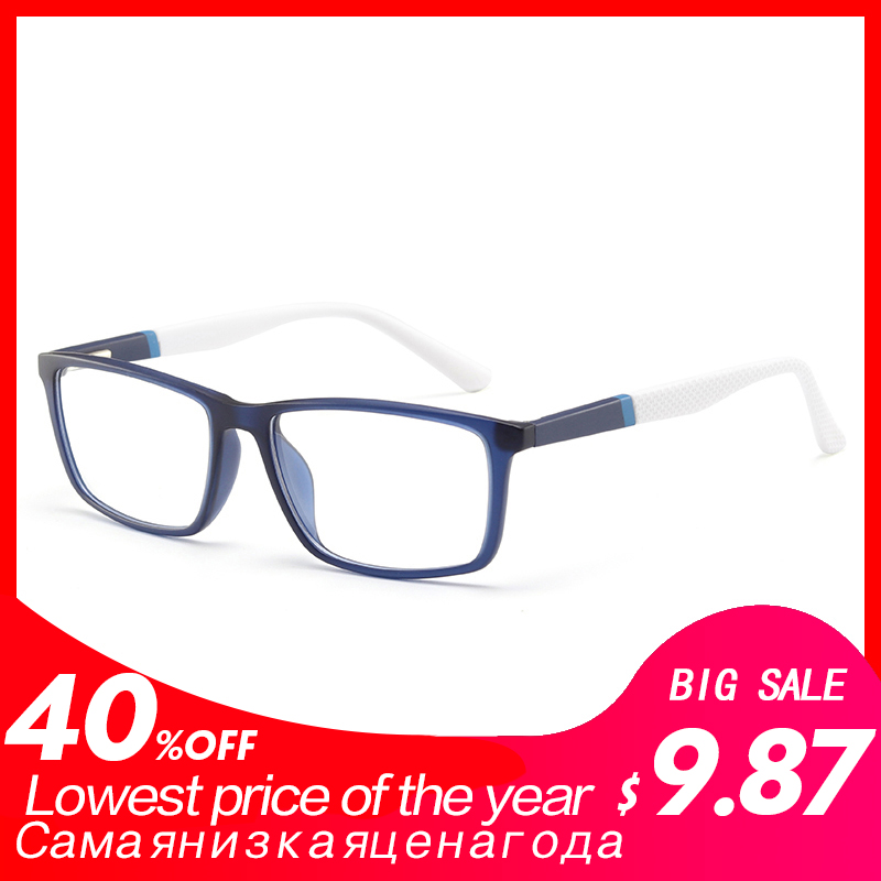 TR90 man glasses spectacle frame clear retro fashion optical myopia eyeglasses frame #MOD.5028