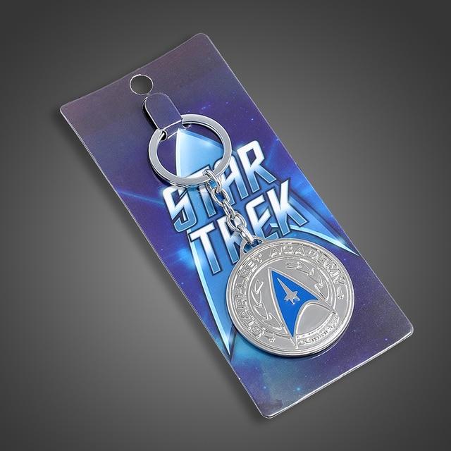 Горячая Фильм Lost in Space Star Trek Металл Подвеска Key Chain брелок для любителей Брелок мужчины Подарков Бесплатная доставка