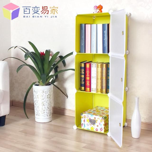 Ikea Boekenkast Kast.Us 157 0 Verschillende Combinatie Van Drie Kleine Boekenkast Kast Yi Jia Smalle Witte Hoek Kast Opbergkast Kast Bookc Ikea In Verschillende