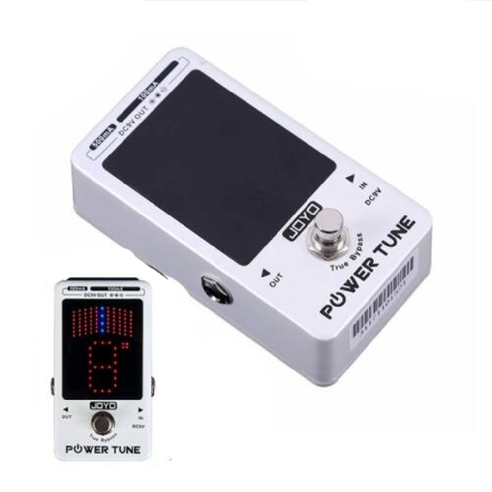 все цены на JOYO JF18R Guitar Accessories Pedal Power Supply Pedal Tuner 2-in-1 pedal adapter 9V 100ma 500ma 8 Isolated Output True bypass