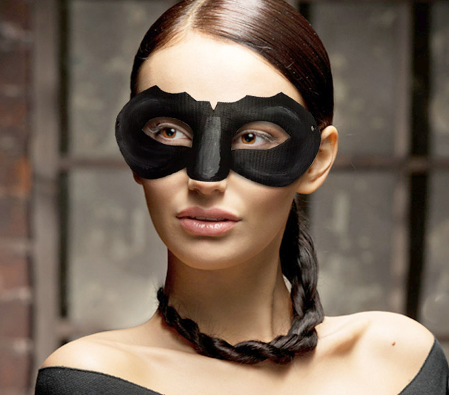 new quality handmade diy mask halloween batman catwoman mask cosplay costume paper mache pulp mask