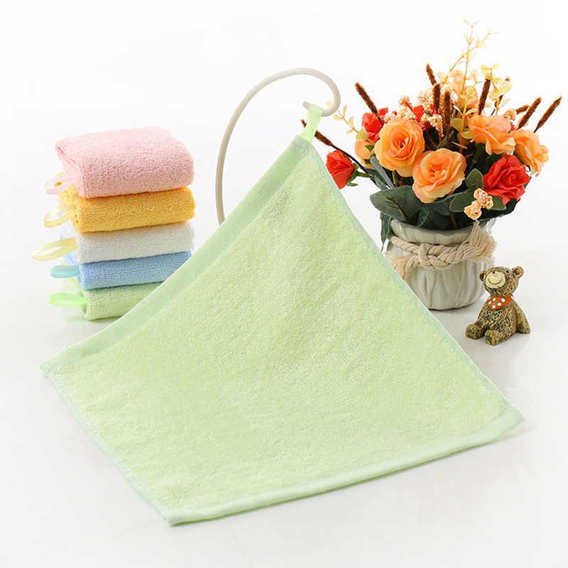Bambus Faser Haut-freundliche Komfortable Kindergarten Kinder Kinder Platz Taschentuch Handtuch 29*29 cm FS0591