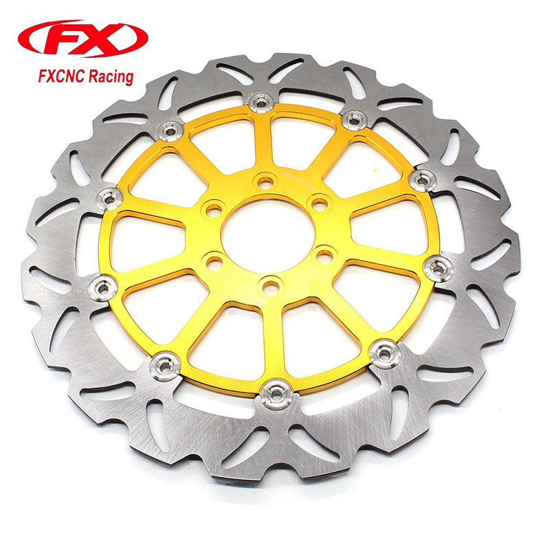 FXCNC Motorcycle Brake Disc 320mm Floating Rear Brake Disc Rotor For KTM 125 200 390 DUKE 2013-2016 Motorbike Front Brake Disc motorcycle cm 125 front wheel brake cylinder disc brake pump assy motorbike up pump brake level for honda cm125 cm 125