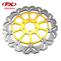 FXCNC Motorcycle Brake Disc 320mm Floating Rear Brake Disc Rotor For KTM 125 200 390 DUKE