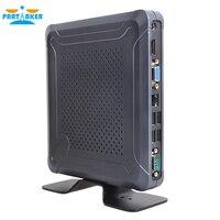 Windows 10 мини ПК настольных компьютеров с вентилятором Intel Celeron 3865U причастником C3