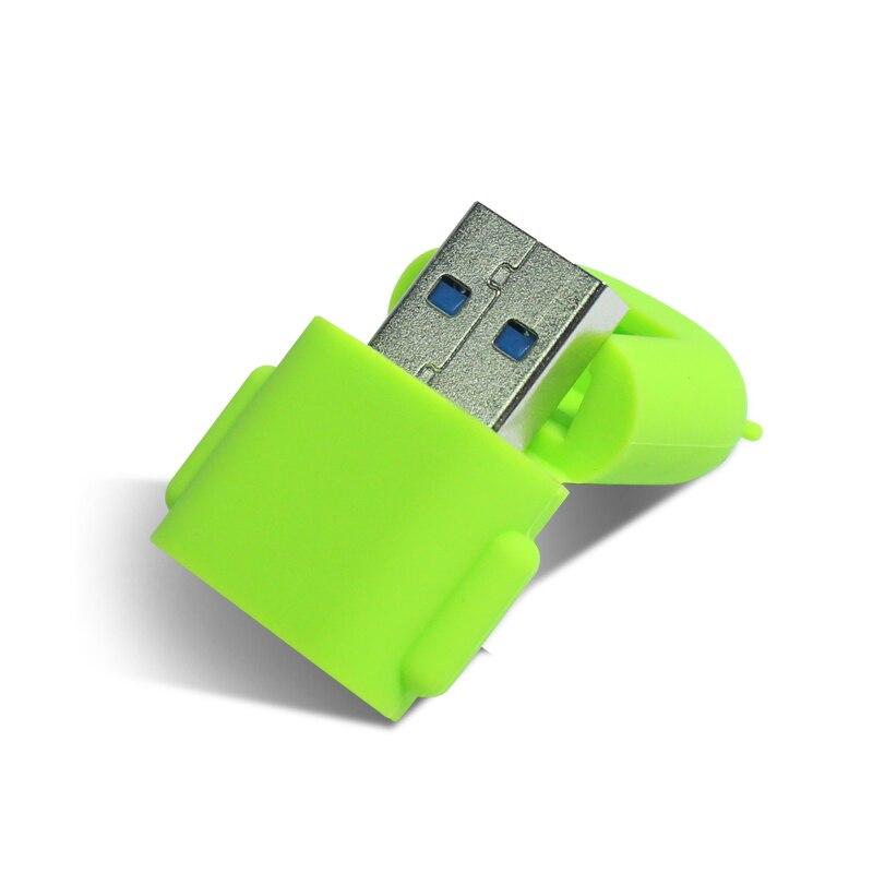 Высокая Скорость! USB3.0 Card Reader робот Форма карты адаптера Поддержка 2 ТБ TF Micro SD SDHC SDXC карты MicroSD для Android