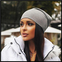 2017-fashion-10-Colors-Autumn-Thin-Hat-Women-s-Hats-Adjustable-Size-Beanie-Caps-Solid-sexy_