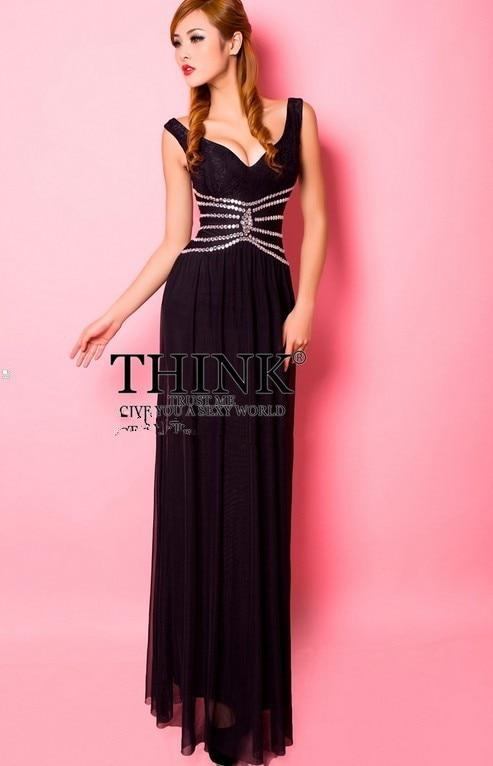 Распродажа кружева v-образным вырезом Длинные платья для вечеринки вечерние платья vestido de festa rendo robe de soiree Abiti da сывороток H0631
