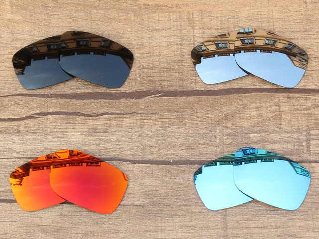 37a740208f9 PapaViva POLARIZED Replacement Lenses for Crankcase Sunglasses 100% UVA    UVB Protection - Multiple Options