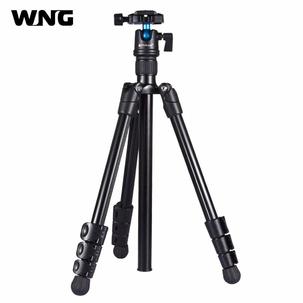 все цены на Lightweight Portable Professional Travel Camera Tripod Monopod Aluminum 360 Degree Ball Head Compact for Digital SLR DSLR Camera онлайн